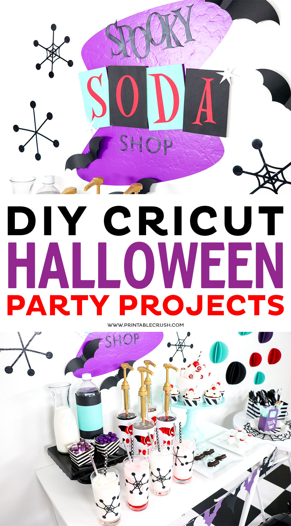 Open these DIY Cricut Halloween Projects in Cricut Design Space and MAKE IT right away...No need to edit the files but you can if you want to!