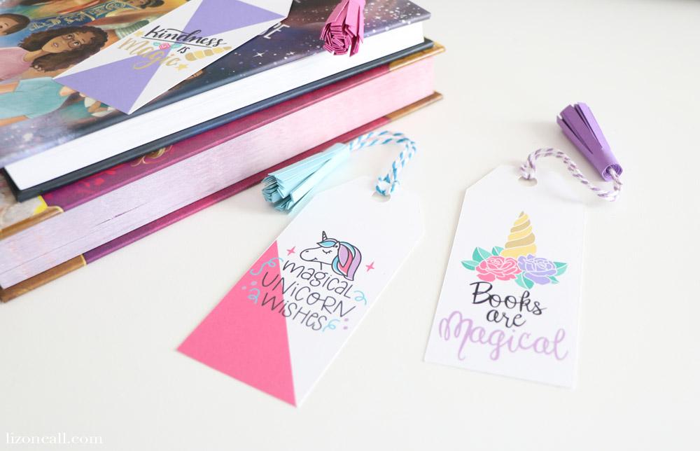 Create these DIY Unicorn Tassel Bookmarks with your Cricut Machine!