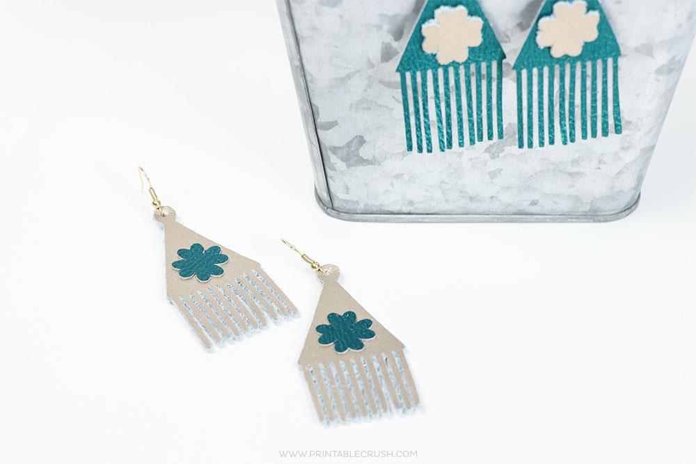 St. Patrick's Day DIY Shamrock Earrings