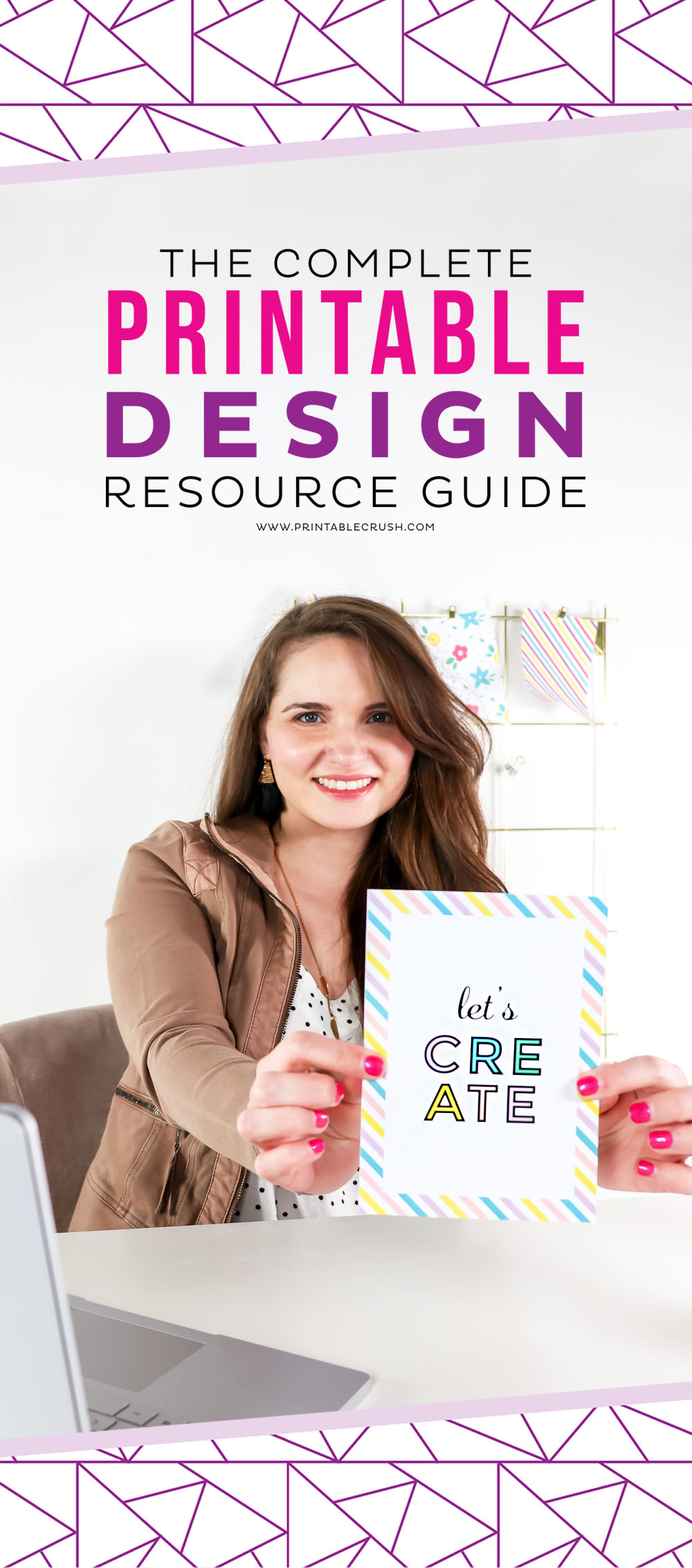 Ever want to create your own printables or digital files for your business? Check out this Complete Printable Design Resource Guide for all my helpful Printable links!