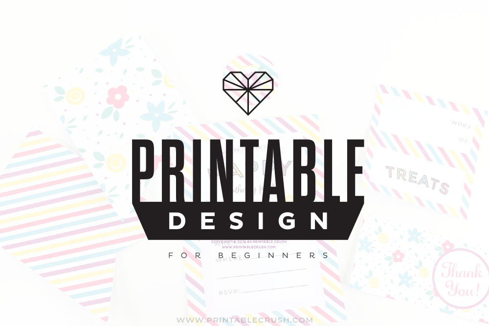 Learn how to use Adobe Illustrator in this Printable Design for Beginners Course!