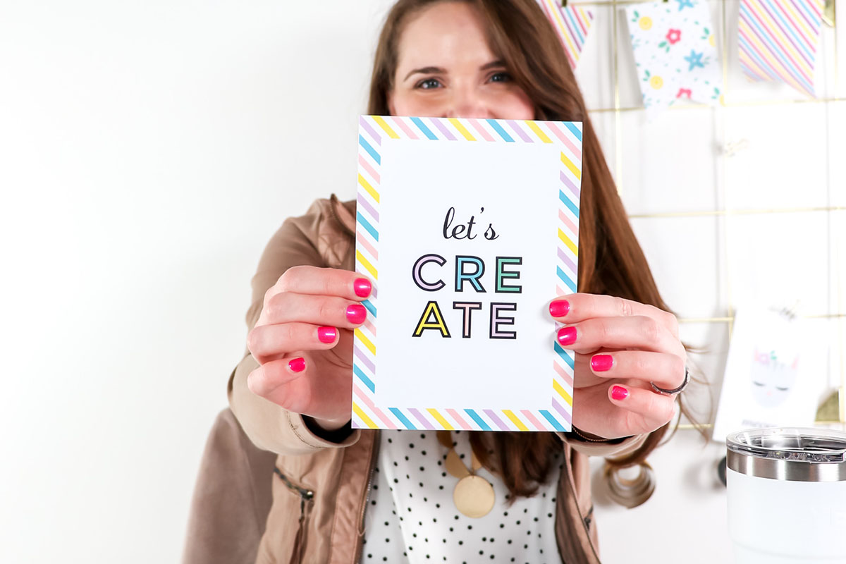 Download the FREE E-book - The Ultimate Guide to Printable Supplies by Printable Crush