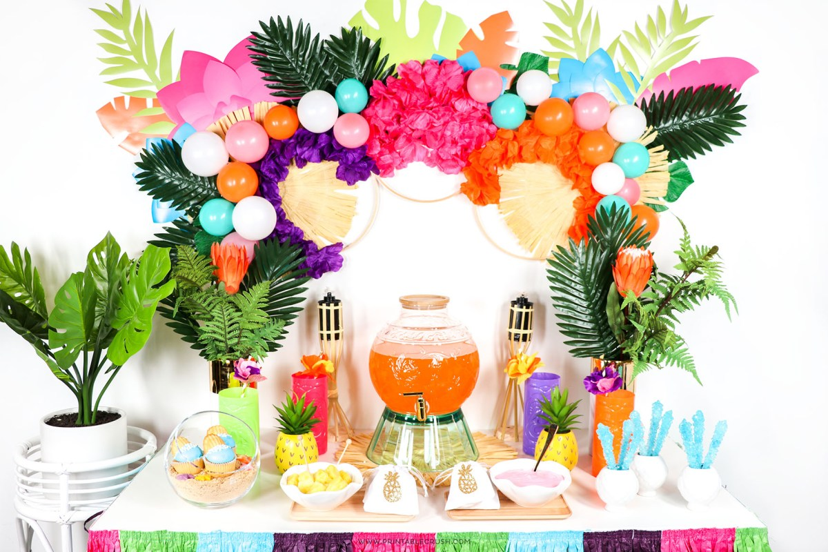 Easy Hawaiian Luau Party Ideas