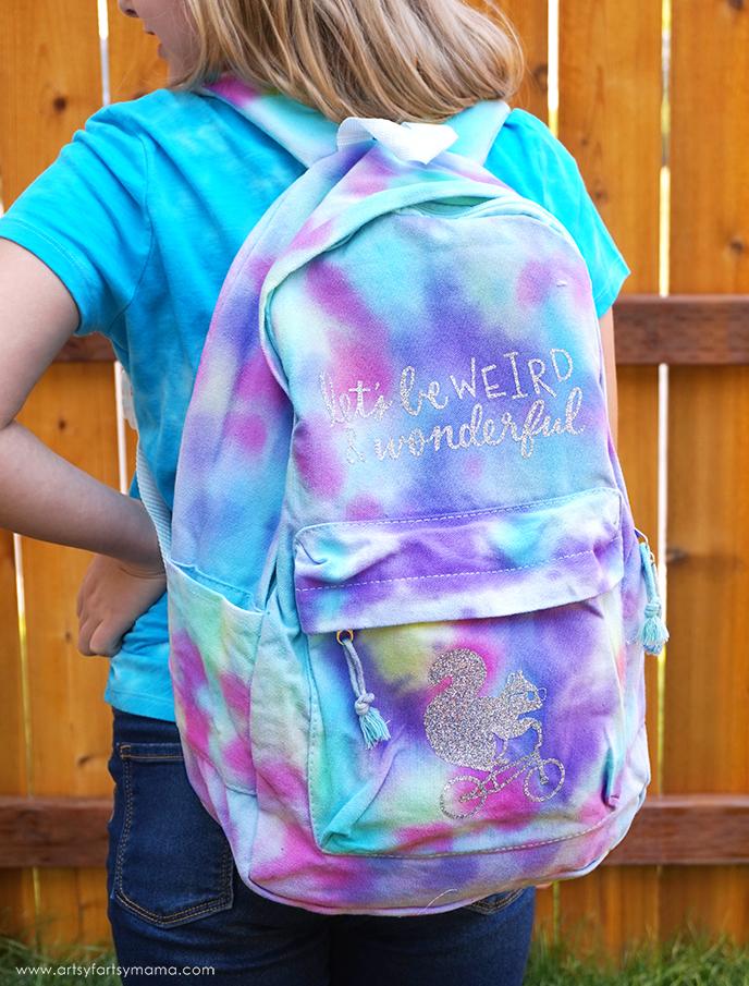 DIY Tie-Dye Backpack