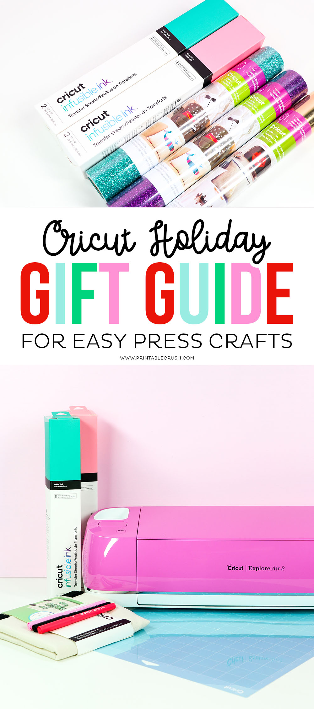 Cricut EasyPress 2 Craft Supplies to Buy for the Holidays