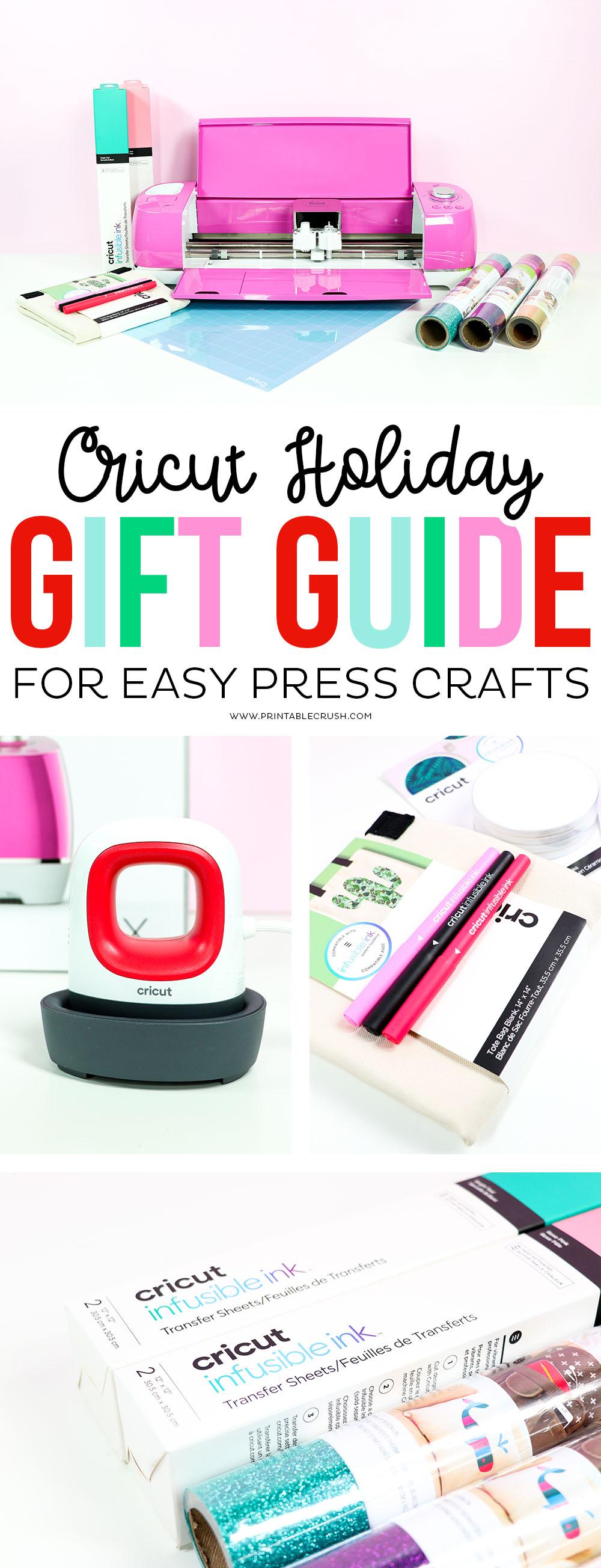 Cricut Gift Guide for EasyPress Fanatics #cricutgiftguide #holidaygiftguide #giftguide #cricutmade #cricutcrafts #christmasgiftguide #giftideas #christmasgifts #craftgifts #craftgiftguide