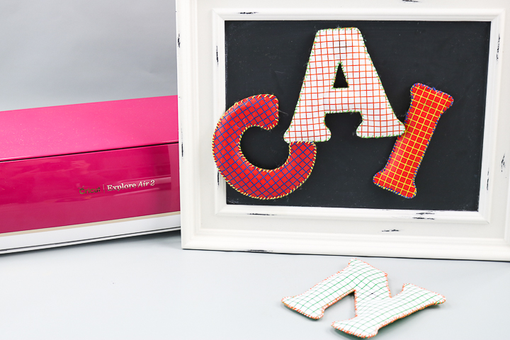 DIY Alphabet Fridge Magnets