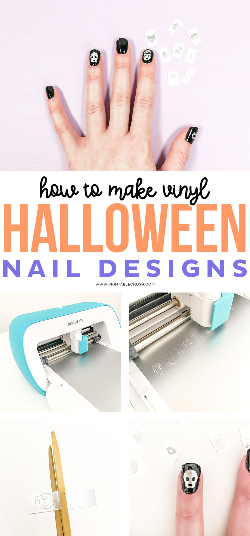 Vinyl Halloween Nail Designs - Printable Crush