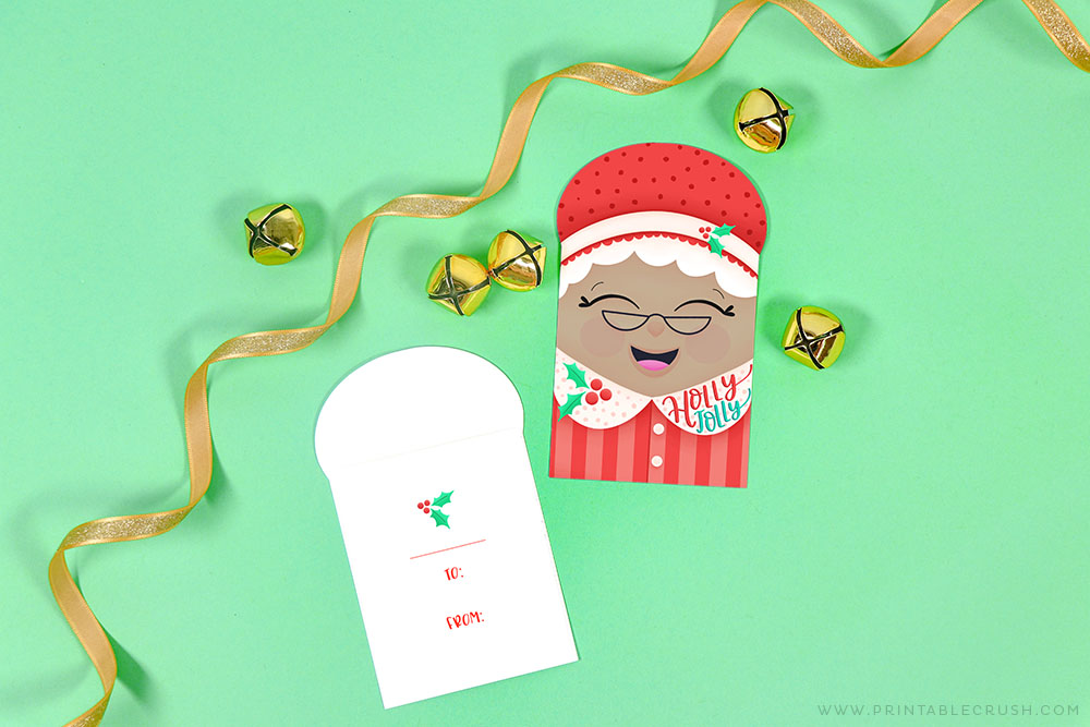 Mrs Claus printable gift tags - Printable Crush