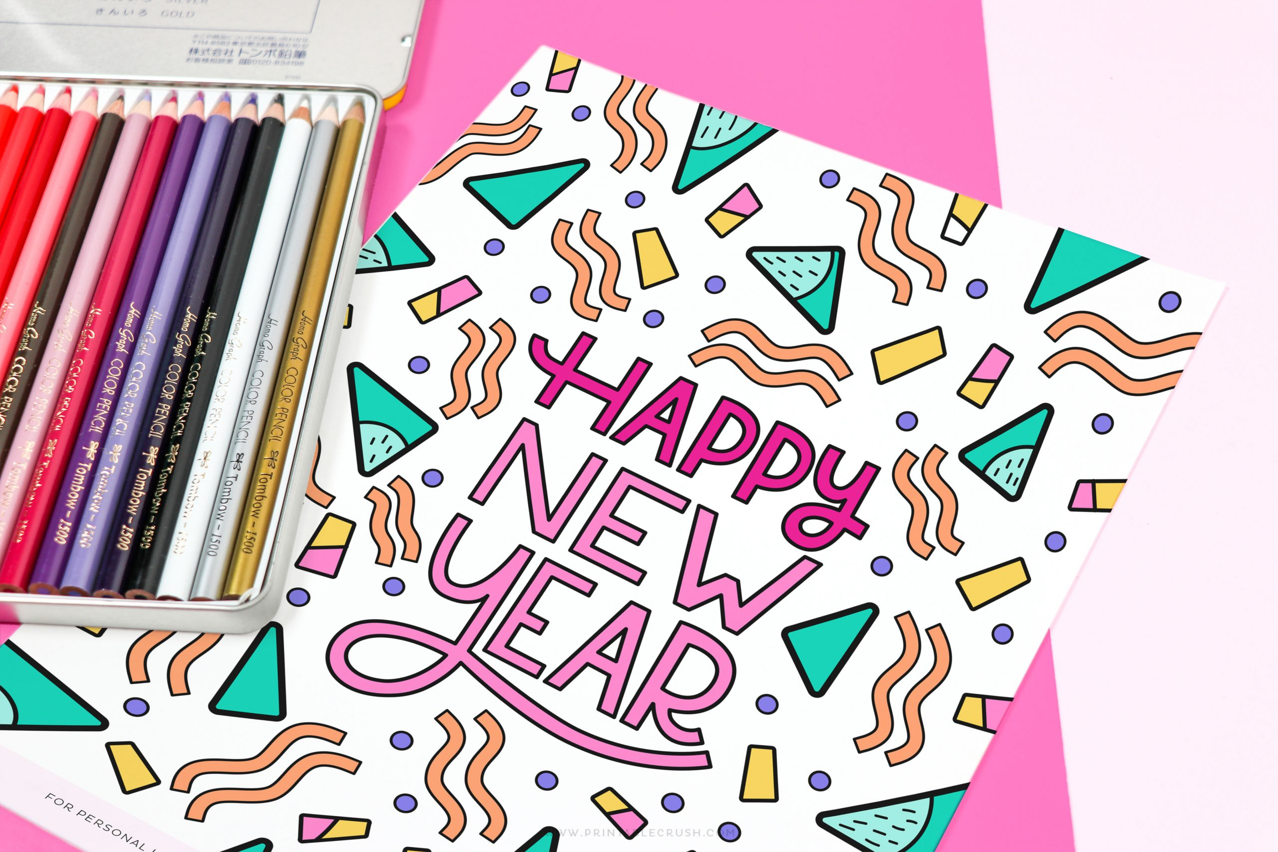 Download This New Year S Coloring Page For Free Coloring Pages