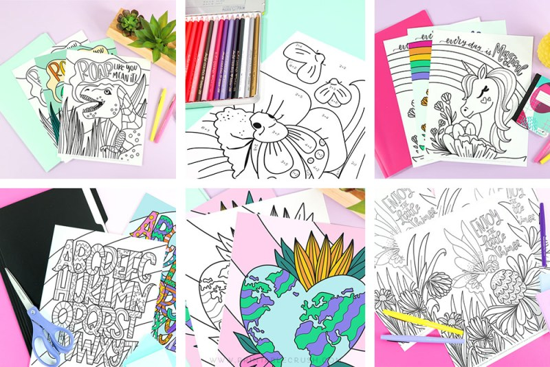 Free Printable Coloring Pages for you to download