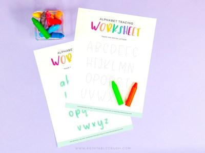 Printables for teachers - Printables for homeschooling - Crayon activities - homeschool activities - learning activities - Printable Crush