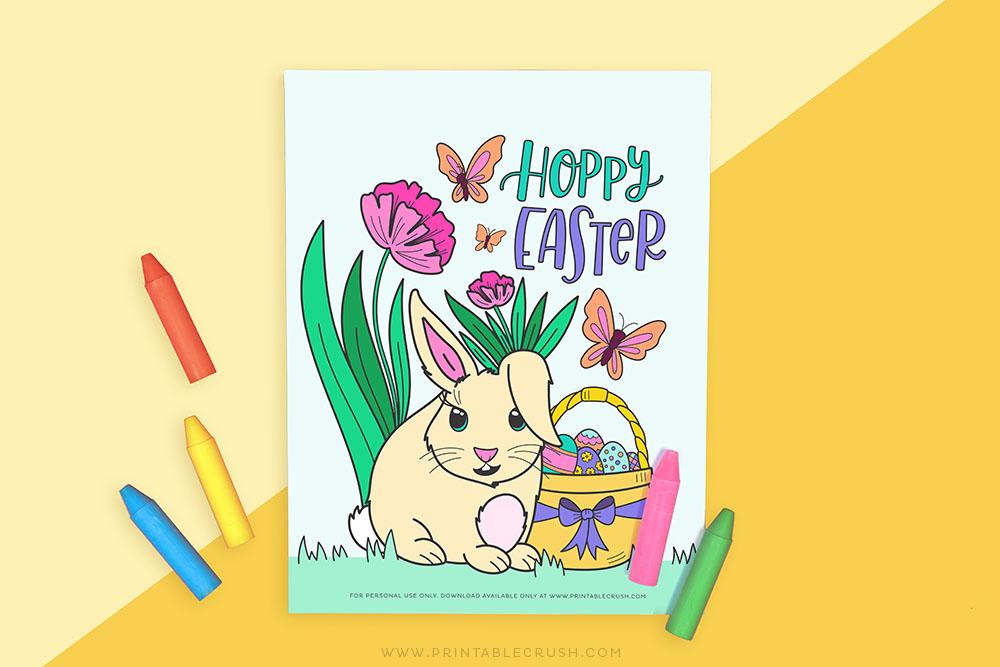 Easter Bunny Activity - Printable Crush