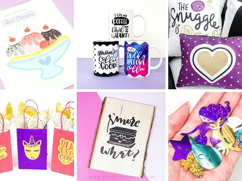 Cricut Project Ideas with SVG Files