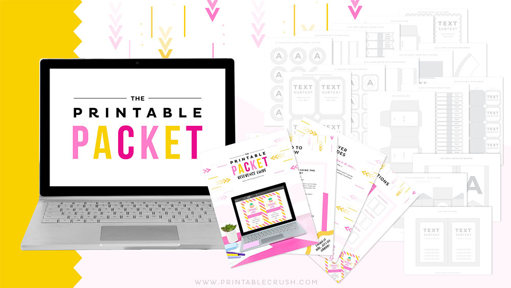 The Printable Packet - Party Invitation Templates