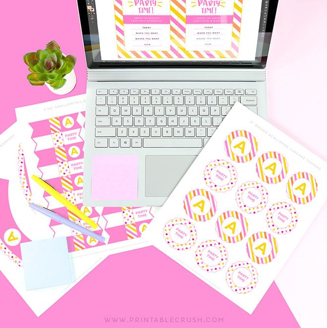 Skip the boring part of Printable Design with these Commercial Use Printable Templates - Printable Crush