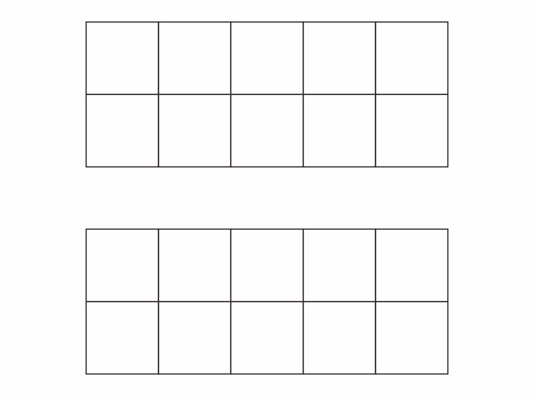 6 Best Images Of Printable Ten Frame Math Sheets