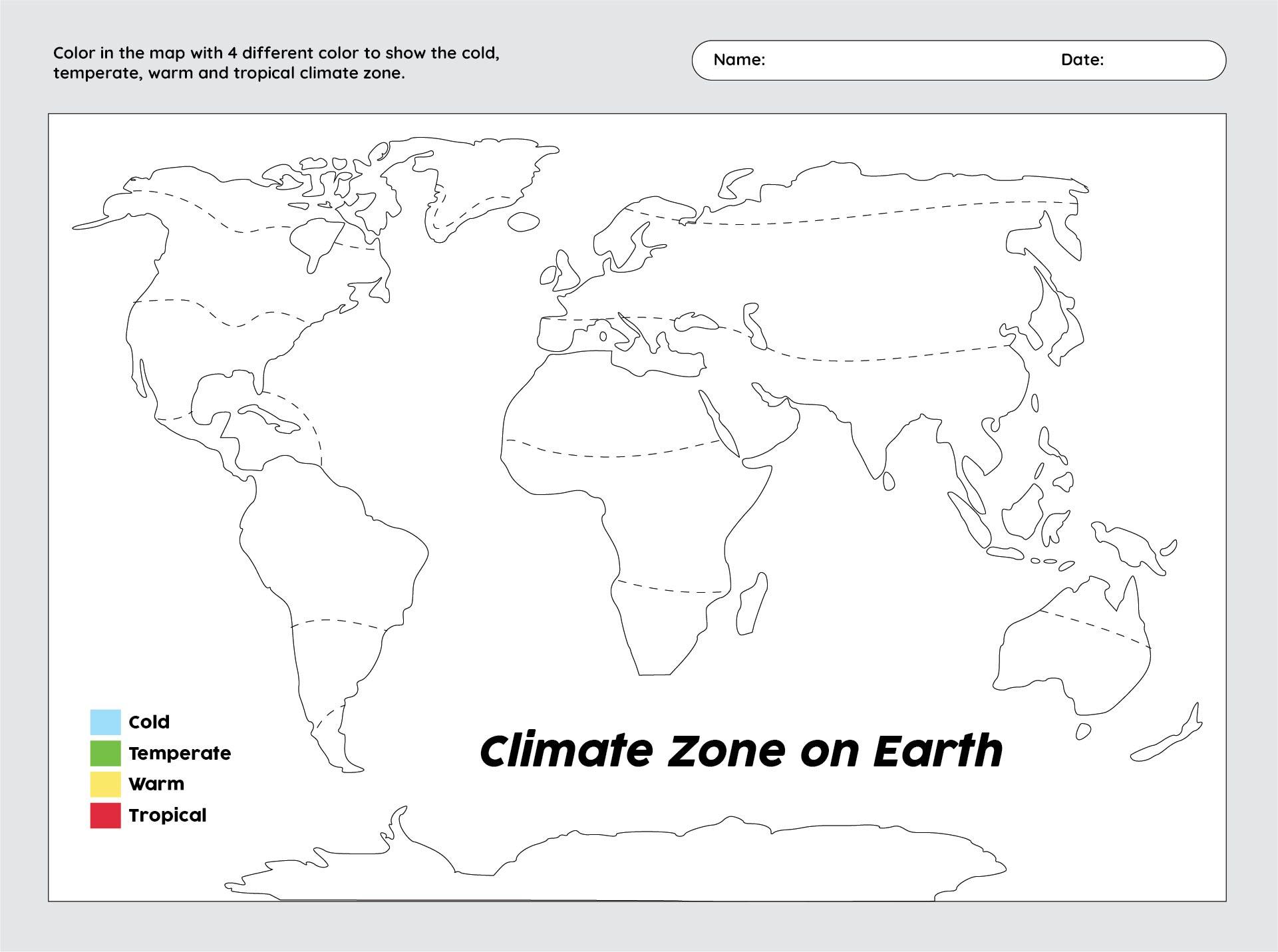 5 Best Images Of World Map Printable Worksheet