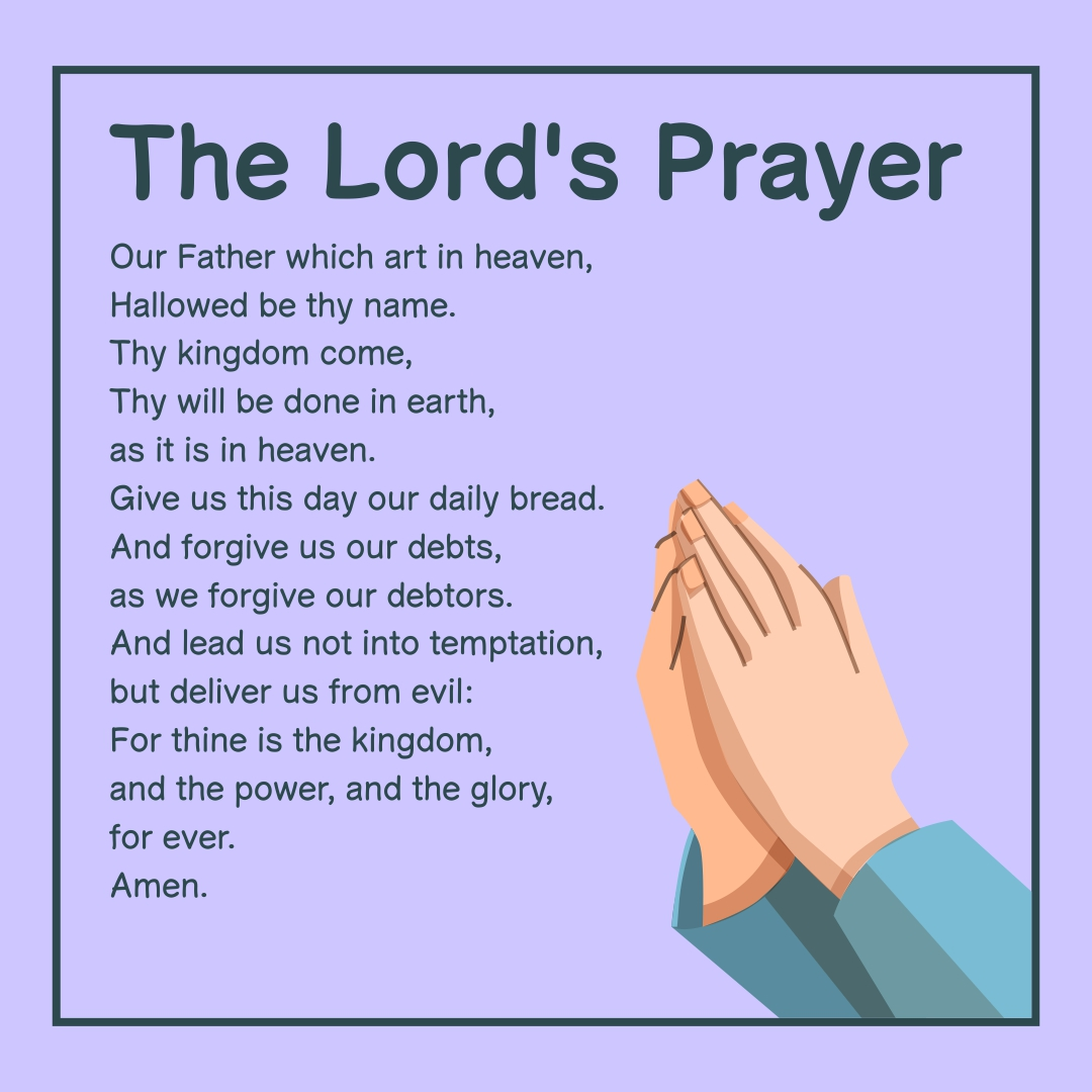 8 Best The Lord Prayer Printable