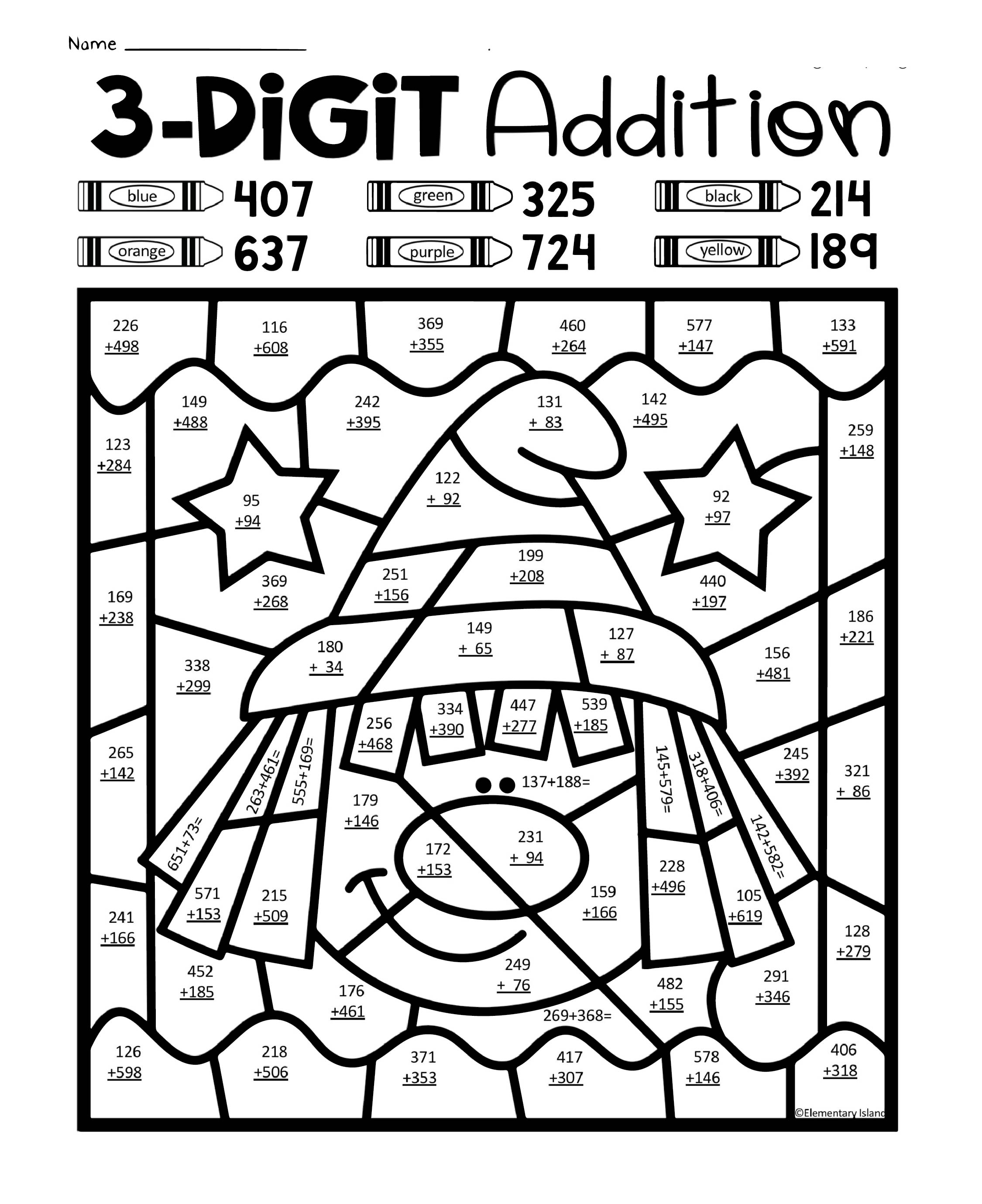 7 Best Halloween Multiplication Coloring Printables