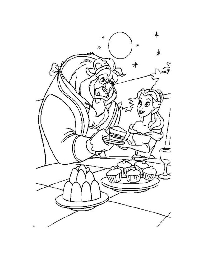 The Beauty and the Beast #19 (Animation Movies) – Printable