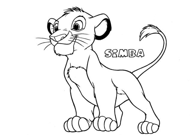 The Lion King #21 (Animation Movies) – Printable coloring pages