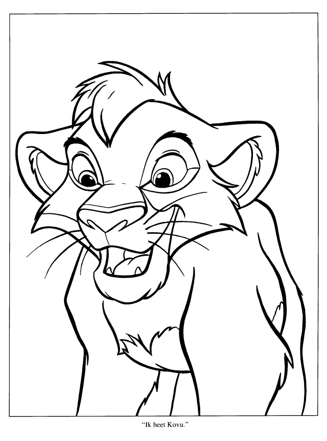 The Lion King #20 (Animation Movies) – Printable coloring pages