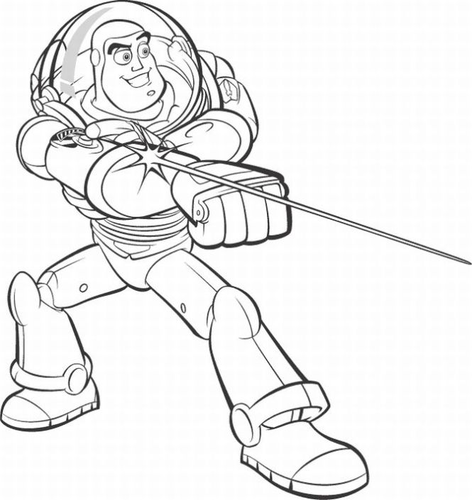 Buzz Lightyear Of Star Command 46680 Cartoons Printable Coloring Pages
