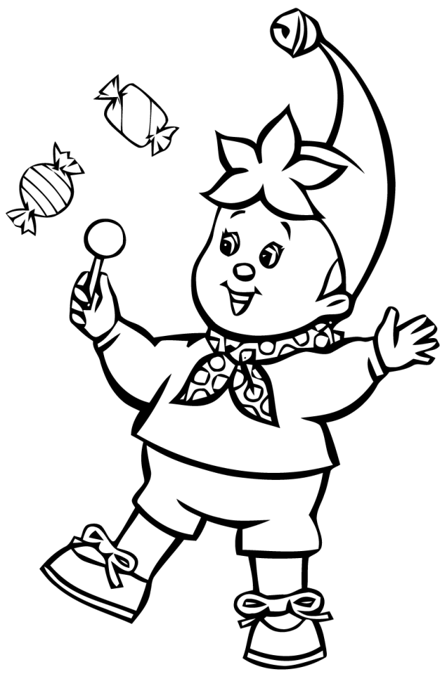 Drawing Noddy #25 (Cartoons) – Printable coloring pages