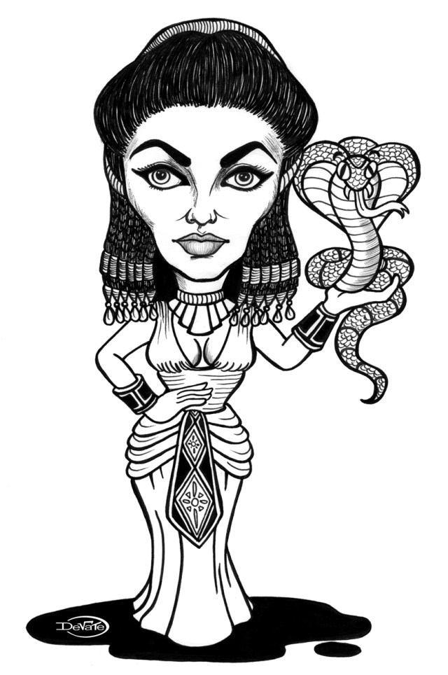 Cleopatra #20 (Characters) – Printable coloring pages