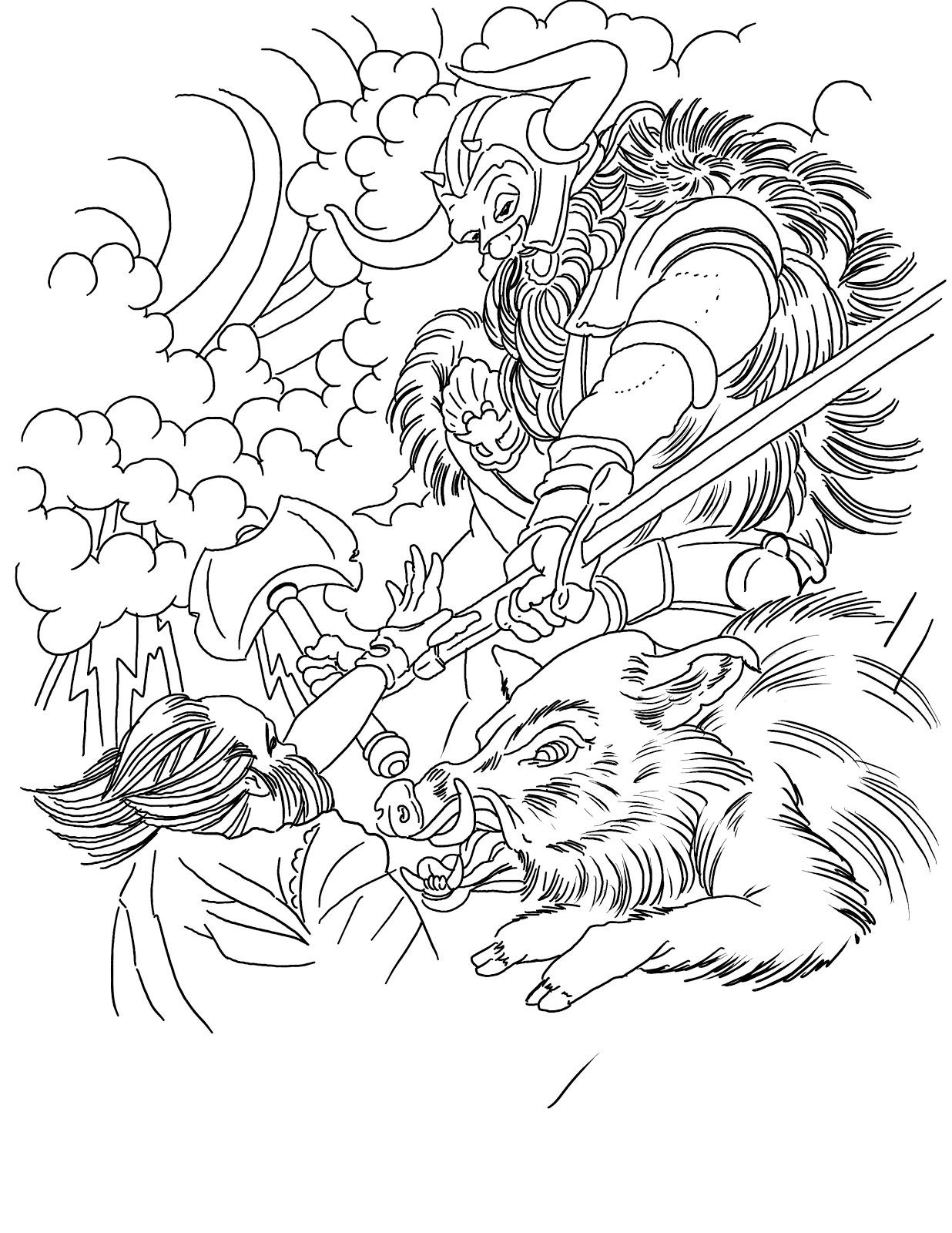 Norse Mythology Gods And Goddesses Printable