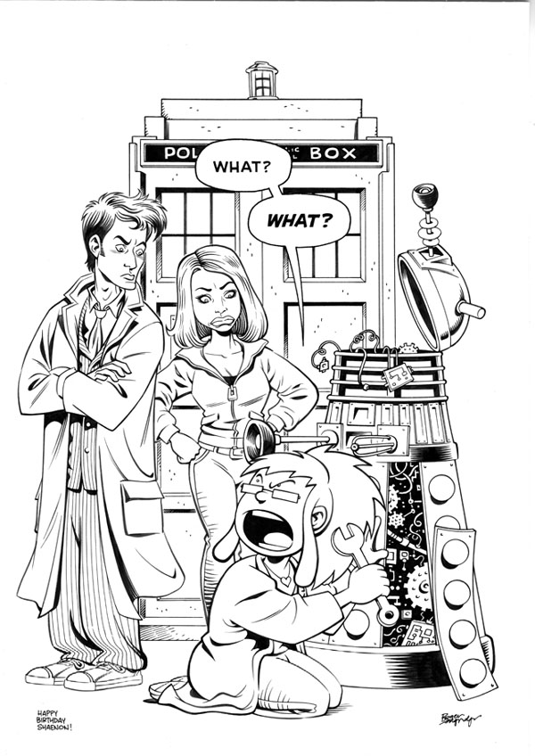 Doctor Who 153164 Tv Shows Printable Coloring Pages