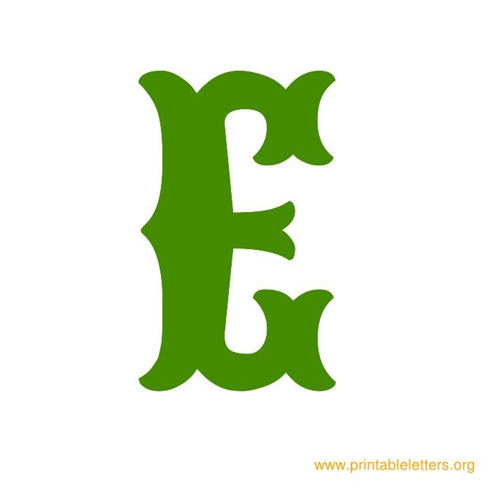 picture regarding Printable Poster Letters referred to as Printable Poster Measurement Letters