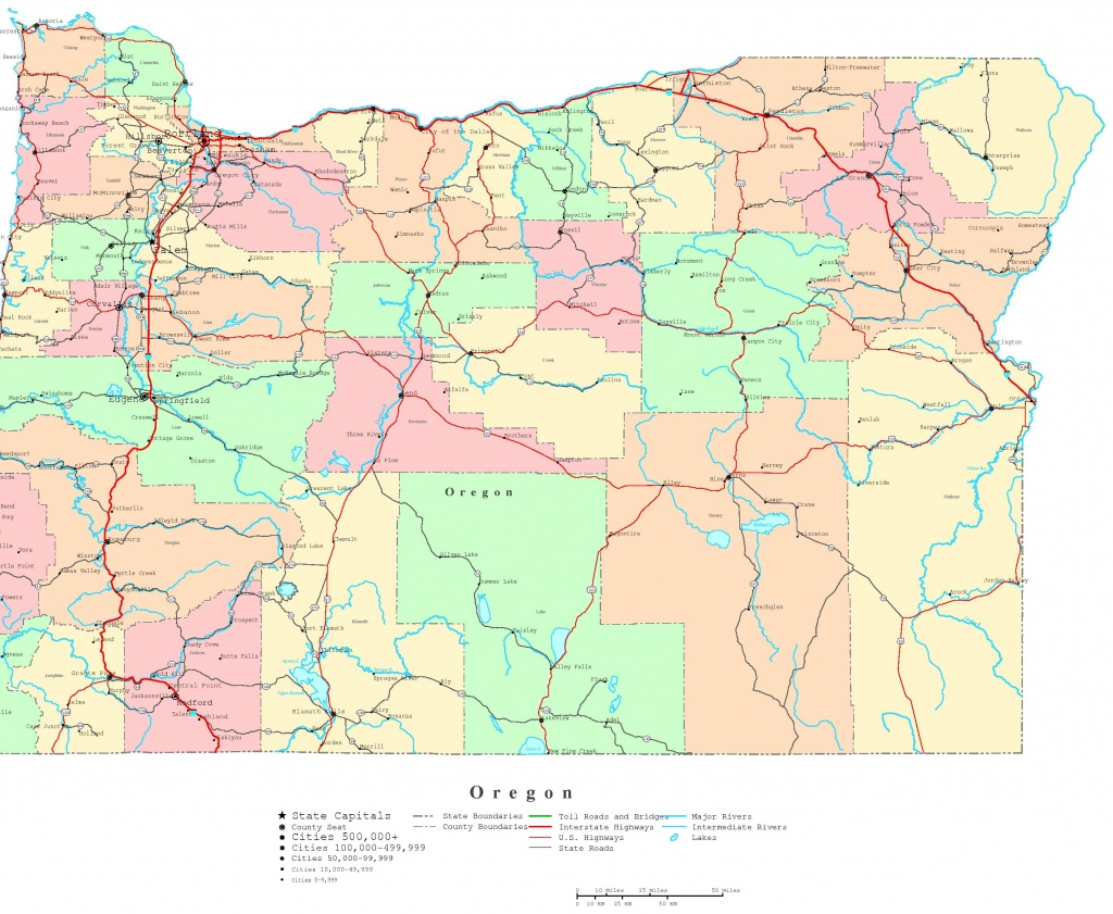Printable Map Of The Oregon Trail