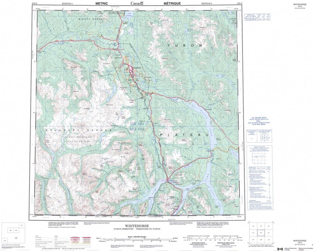 Free Printable Topographic Maps