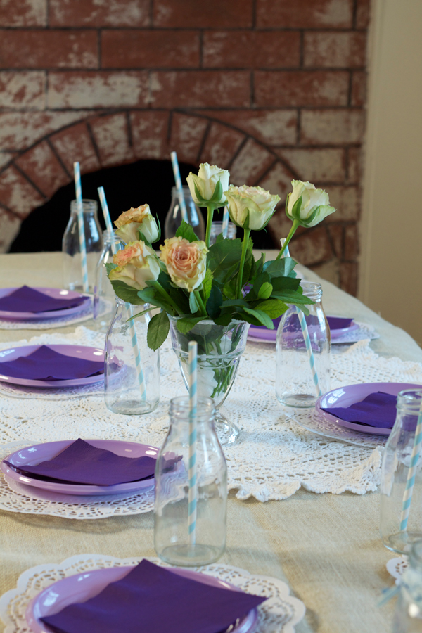 This is an image of the table setting.