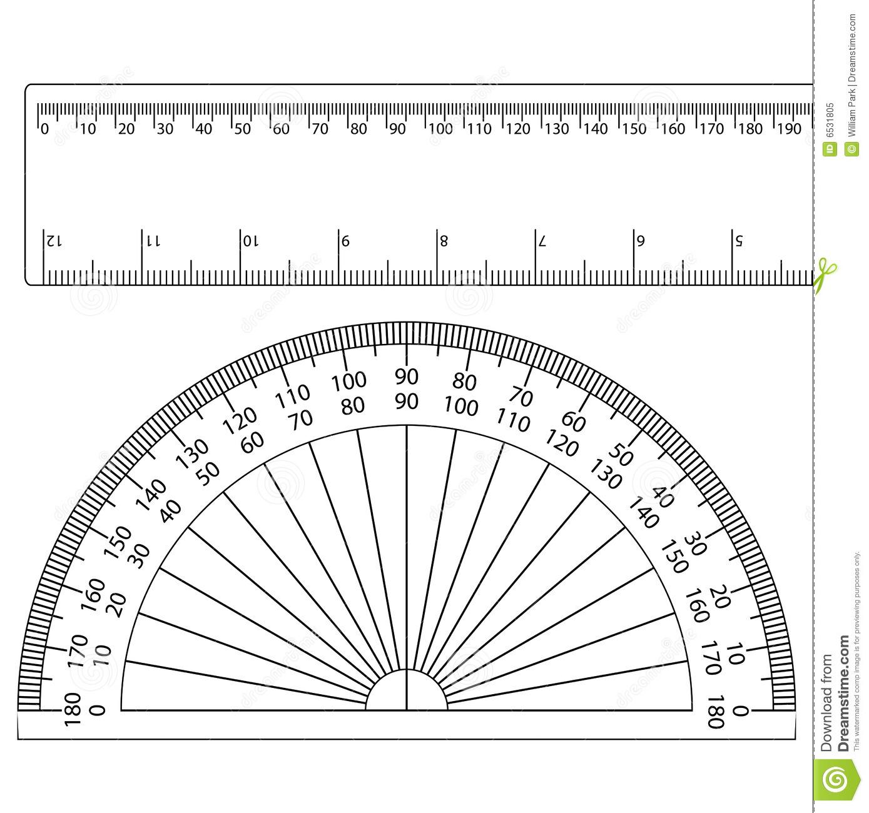Printable Latitude Longitude Ruler