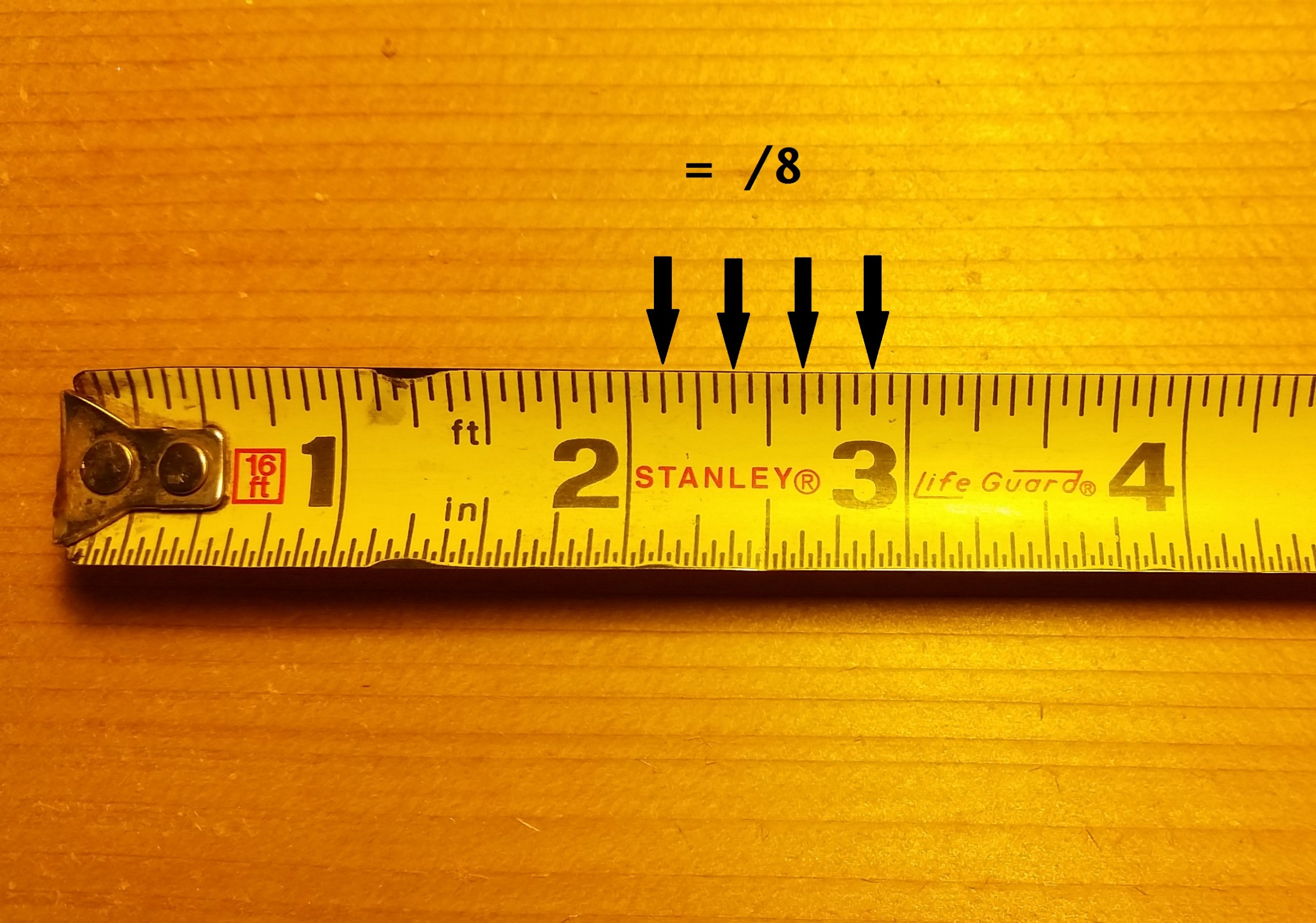 How To Read A Tape Ruler Printable Pictures
