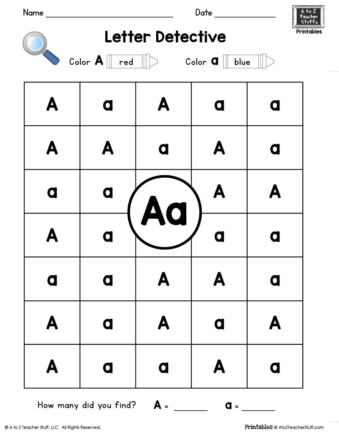 Letter L Worksheets For K And 1st Grade