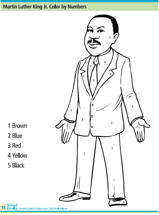 Martin Luther King Math Worksheets Davezan – Martin Luther King Math Worksheets