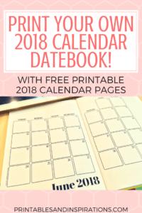 print month calendar