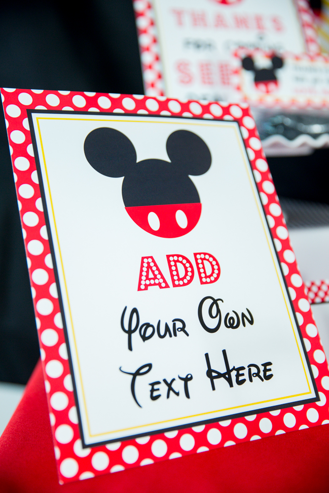 Red Minnie Mouse Birthday Party Printables And Invitation