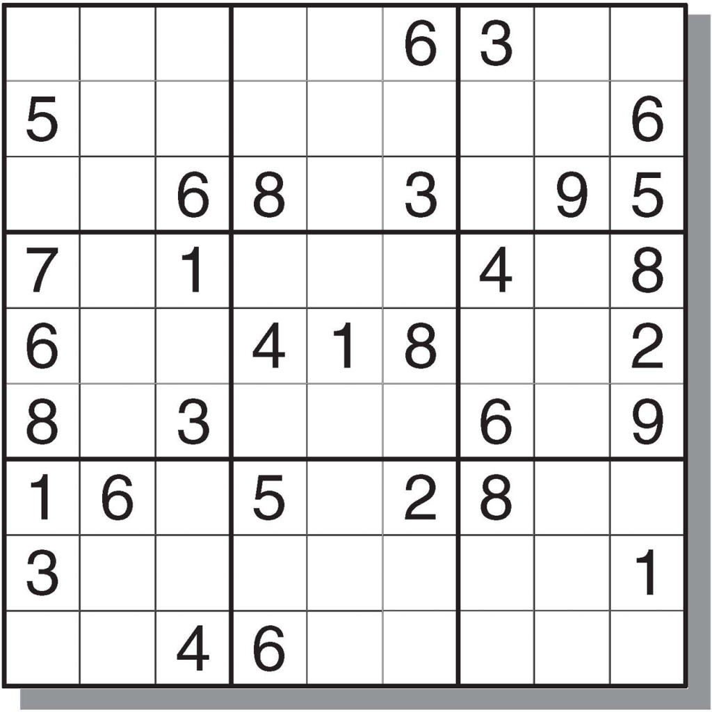 Worksheets Printable Hard Sudoku   Printable Worksheets and
