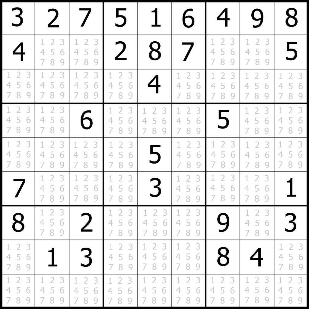 Very Hard Sudoku Puzzle To Print 7