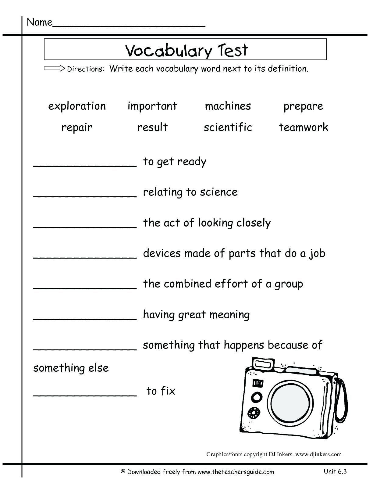 Free Printable Multiple Meaning Words Worksheets