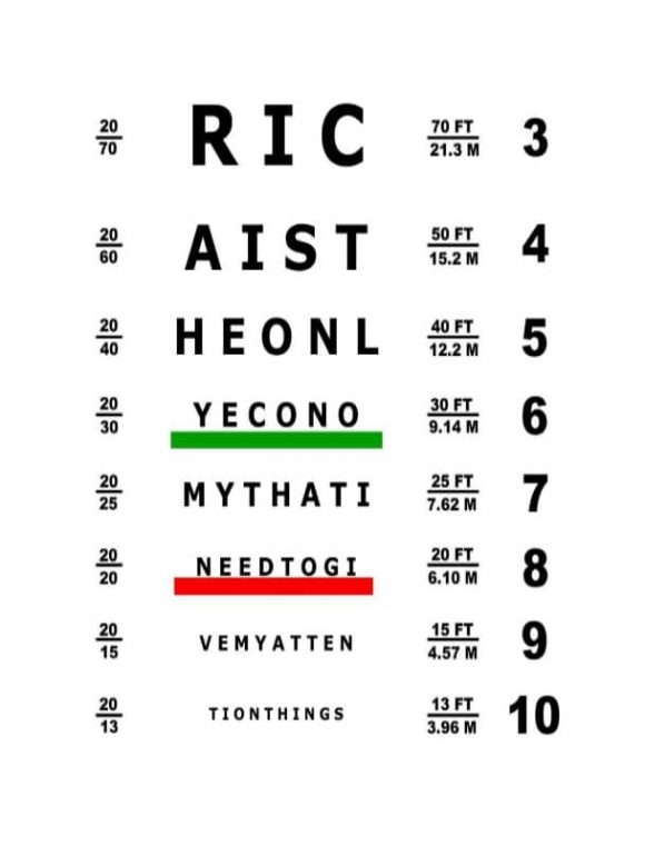 Eye charts images 50 printable eye test charts templates 50 printable eye test charts templates eye charts images pronofoot35fo Image collections