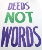 P&E Deeds Not Words Print