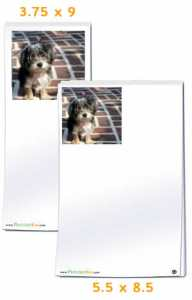 custom photo notepads