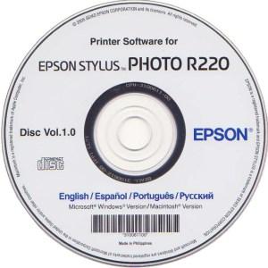 Драйвер Epson R220