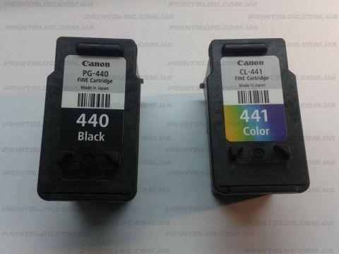 Инструкция по заправке картриджей Canon. Картриджи PG-440, CL-441.